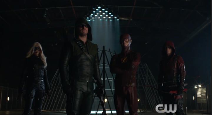 New 'Arrow' and 'Flash' Promo: Superhero FightClub