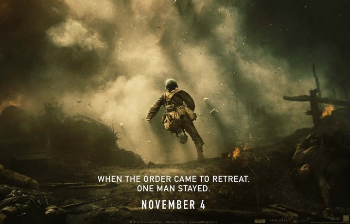 HACKSAW RIDGE In Theaters Nov. 4