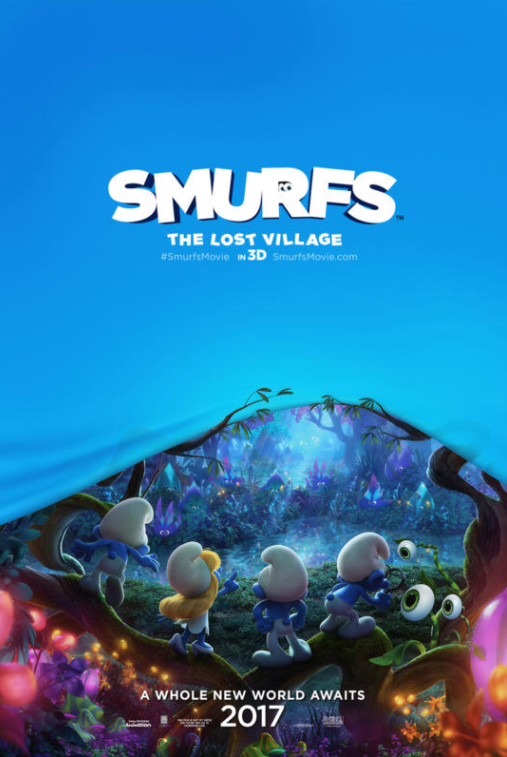 Brand New Trailer for SMURFS: THE LOST VILLAGE