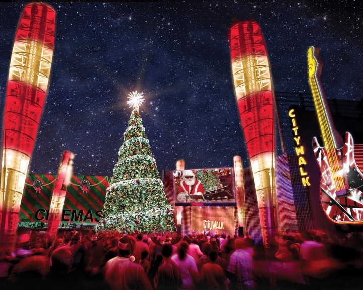 NBC4 Presents The Wishing Tree at Universal CityWalk and Grants Holiday Wishes Live On-Air from December 12-16