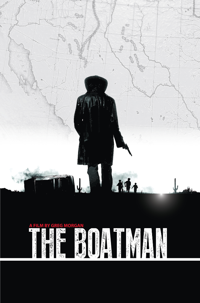 THE BOATMAN a Border Story with a Paranormal Twist