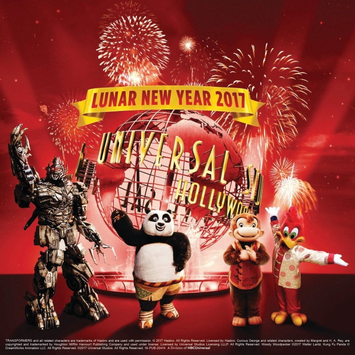 Lunar New Year Event Included in the Price of Universal Studios Hollywood Park Admission