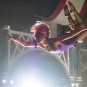 DF-11638_R – Philip (Zac Efron) is entranced by Anne's (Zendaya) trapeze artistry in Twentieth Century Fox's THE GREATEST SHOWMAN.
