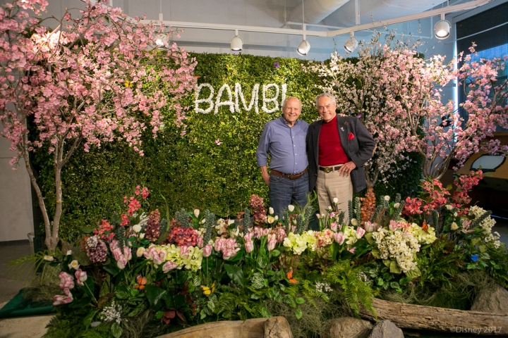 Walt Disney Animation Studios invited Press to Celebrate the 70th Anniversary of BAMBI with Voice Actors for Bambi, Thumper