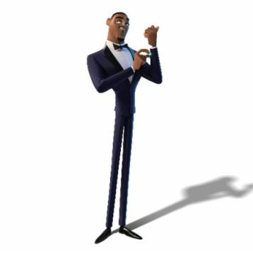Lance Sterling, debonair secret agent extraordinaire (voiced by Will Smith). Photo Credit: Blue Sky Studios