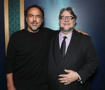 Alejandro Gonzalez Inarritu and Director Guillermo Del Toro