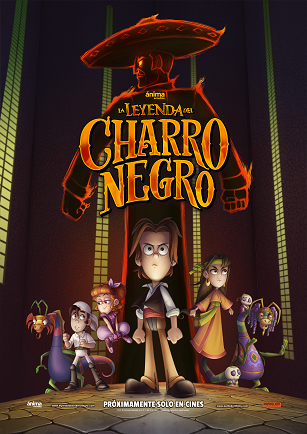LA LEYENDA DEL CHARRO NEGRO Hits Select U.S. Theaters on March 23