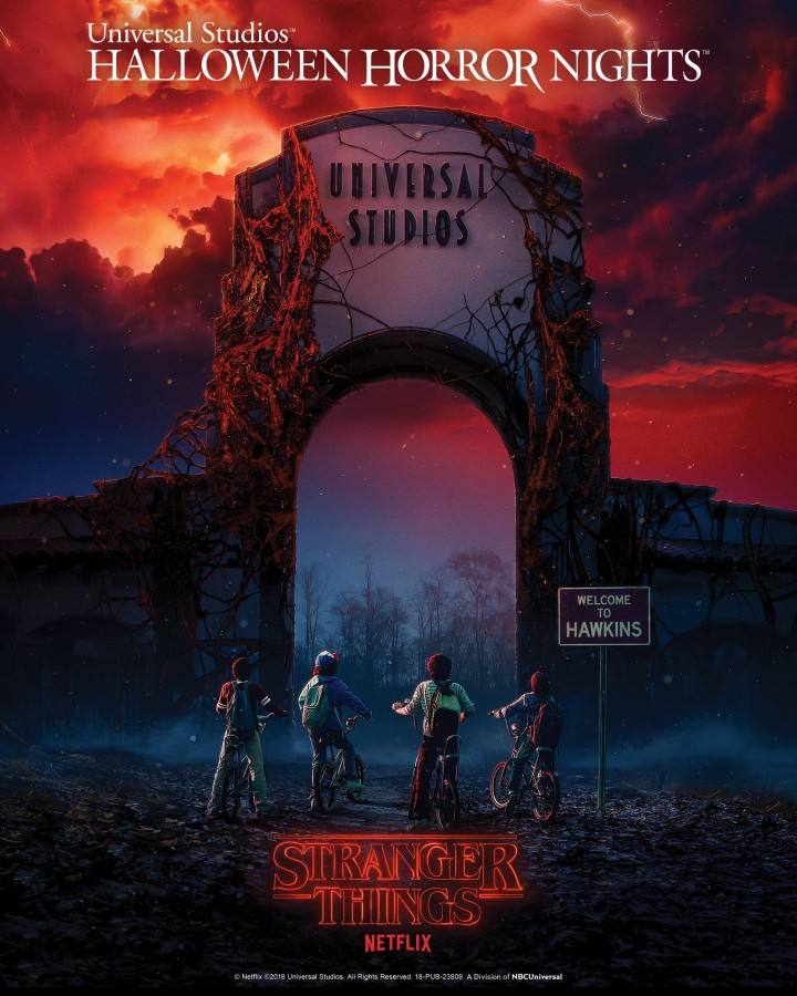 Universal Studios' Halloween Horror Nights Enters an Alternate Dimension with the Highly-Anticipated Arrival of Netflix's Original Series STRANGER THINGS as All-New Supernatural Mazes