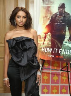 "NEW YORK, NY - JULY 10: Kat Graham attends the ""How It Ends"" Screening hosted by Netflix at Crosby Street Hotel on July 10, 2018 in New York City. (Photo by Monica Schipper/Getty Images for Netflix) *** Local Caption *** Kat Graham"