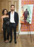 """NEW YORK, NY - JULY 10: Kat Graham (L) and Theo James attend the """"How It Ends"""" Screening hosted by Netflix at Crosby Street Hotel on July 10, 2018 in New York City. (Photo by Monica Schipper/Getty Images for Netflix) *** Local Caption *** Kat Graham; Theo James"""