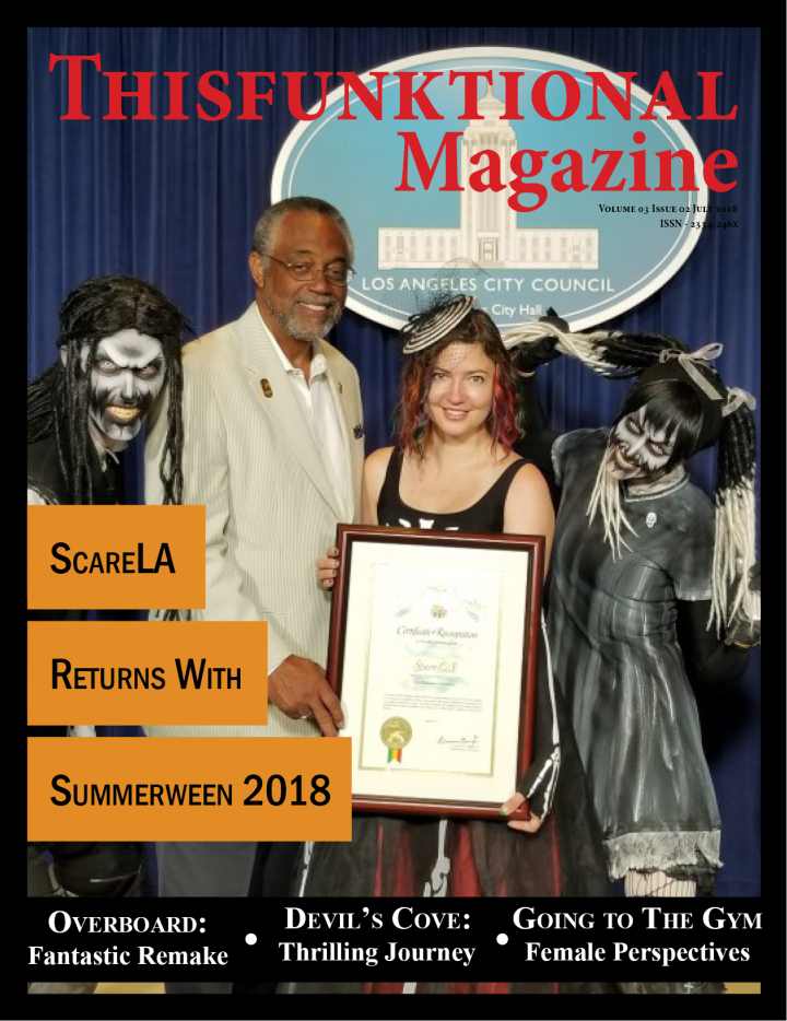 @Thisfunktional Magazine Volume 03 Issue 02 – July 2018 – ScareLA (Lora Ivanova)