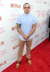 CULVER CITY, CA - AUGUST 16: Casper Smart attends Netflix's 'To All the Boys I've Loved Before' Los Angeles Special Screening at Arclight Cinemas Culver City on August 16, 2018 in Culver City, California. (Photo by Charley Gallay/Getty Images for Netflix) *** Local Caption *** Casper Smart