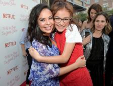 CULVER CITY, CA - AUGUST 16: Janel Parrish and Anna Cathcart attend Netflix's 'To All the Boys I've Loved Before' Los Angeles Special Screening at Arclight Cinemas Culver City on August 16, 2018 in Culver City, California. (Photo by Charley Gallay/Getty Images for Netflix) *** Local Caption *** Anna Cathcart;Janel Parrish