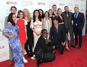 CULVER CITY, CA - AUGUST 16: The cast attends Netflix's 'To All the Boys I've Loved Before' Los Angeles Special Screening at Arclight Cinemas Culver City on August 16, 2018 in Culver City, California. (Photo by Charley Gallay/Getty Images for Netflix)