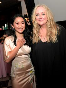 CULVER CITY, CA - AUGUST 16: Lana Condor and Susan Johnson attend the afterparty for Netflix's 'To All the Boys I've Loved Before' Los Angeles Special Screening at The Culver Hotel on August 16, 2018 in Culver City, California. (Photo by Charley Gallay/Getty Images for Netflix) *** Local Caption *** Lana Condor;Susan Johnson