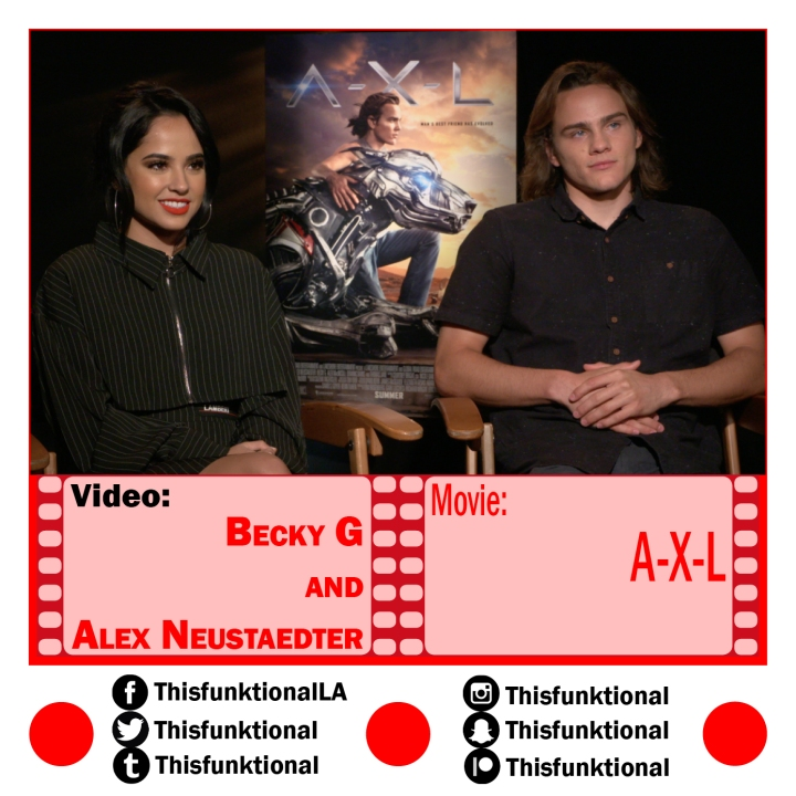 @Thisfunktional talks with Becky G, Alex Neustaedter A.X.L.