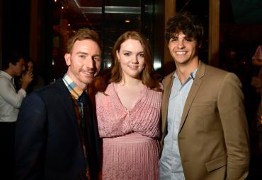 HOLLYWOOD, CA - AUGUST 30: Director Ian Samuels Shannon Purser and Noah Centineo attend the Los Angeles Premiere of the Netflix Film, Sierra Burgess is a Loser at Arclight Hollywood on August 30, 2018 in Hollywood, California. (Photo by Matt Winkelmeyer/Getty Images for Netflix) *** Local Caption *** Noah Centineo; Shannon Purser; Ian Samuels