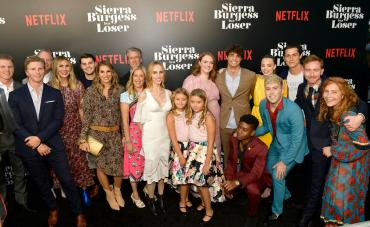 HOLLYWOOD, CA - AUGUST 30: The cast of Sierra Burgess is a Loser attends the Los Angeles Premiere of the Netflix Film Sierra Burgess is a Loser at Arclight Hollywood on August 30, 2018 in Hollywood, California. (Photo by Matt Winkelmeyer/Getty Images for Netflix)