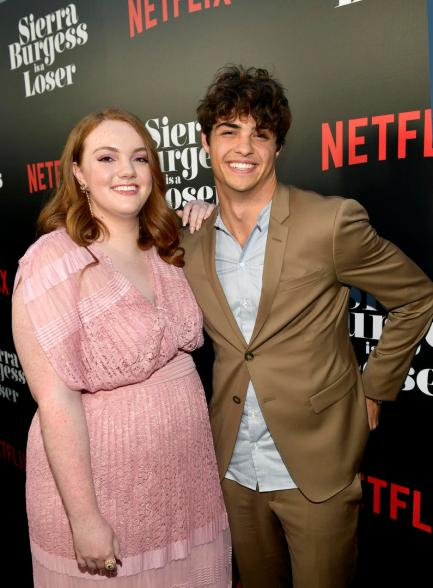 HOLLYWOOD, CA - AUGUST 30: Shannon Purser and Noah Centineo attend the Los Angeles Premiere of the Netflix Film Sierra Burgess is a Loser at Arclight Hollywood on August 30, 2018 in Hollywood, California. (Photo by Matt Winkelmeyer/Getty Images for Netflix) *** Local Caption *** Shannon Purser; Noah Centineo