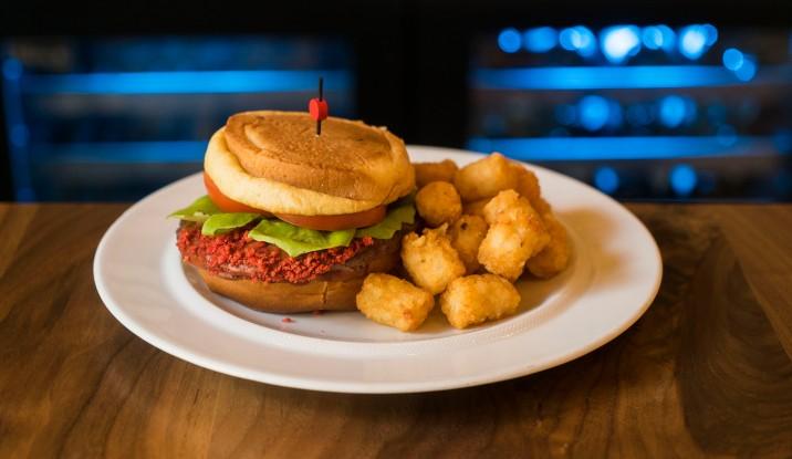 The Upside Down Burger - Universal Studios Hollywood