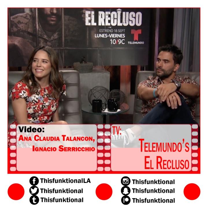 @Thisfunktional talks with Ana Claudia Talancon, Ignacio Serricchio ELRECLUSO