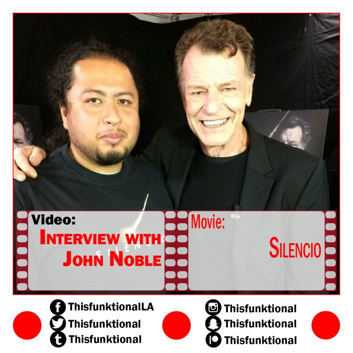 @Thisfunktional talks with John Noble SILENCIO