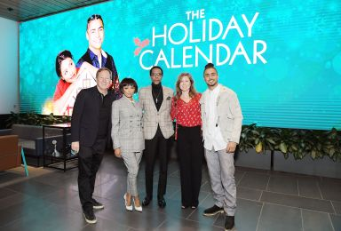"""LOS ANGELES, CALIFORNIA - OCTOBER 30: (L-R) Producer Brad Krevoy, Kat Graham, Ron Cephas Jones, Netflix Director of Content Acquisitions Christina Rogers and Quincy Brown attends """"The Holiday Calendar"""" Special Screening Los Angeles at NETFLIX Icon Building on October 30, 2018 in Los Angeles, California. (Photo by Charley Gallay/Getty Images for Netflix)"""
