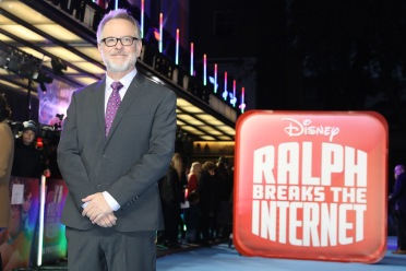 "LONDON, ENGLAND - NOVEMBER 25: Director Rich Moore attends the UK Premiere of Disney's ""Ralph Breaks The Internet"" at the Curzon Mayfair on November 25, 2018 in London, United Kingdom. (Photo by Tristan Fewings/Getty Images for Disney)"