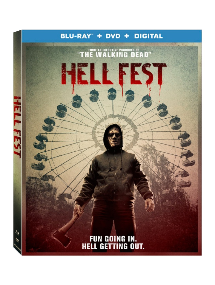 HELL FEST on digital December 28, on 4K Ultra HD™ Combo Pack, Blu-ray™ Combo Pack, DVD on January 8