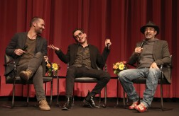 Manuel Garcia-Rulfo, Director Manolo Caro and Bruno Bichir
