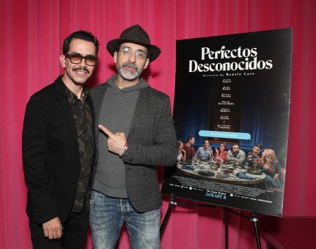 Director Manolo Caro and Bruno Bichir