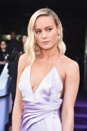 "LOS ANGELES, CA - APRIL 22: Brie Larson attends the Los Angeles World Premiere of Marvel Studios' ""Avengers: Endgame"" at the Los Angeles Convention Center on April 23, 2019 in Los Angeles, California. (Photo by Alberto E. Rodriguez/Getty Images for Disney) *** Local Caption *** Brie Larson"
