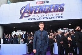 "LOS ANGELES, CA - APRIL 22: Chris Hemsworth attends the Los Angeles World Premiere of Marvel Studios' ""Avengers: Endgame"" at the Los Angeles Convention Center on April 23, 2019 in Los Angeles, California. (Photo by Alberto E. Rodriguez/Getty Images for Disney) *** Local Caption *** Chris Hemsworth"