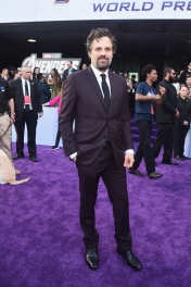 "LOS ANGELES, CA - APRIL 22: Mark Ruffalo attends the Los Angeles World Premiere of Marvel Studios' ""Avengers: Endgame"" at the Los Angeles Convention Center on April 23, 2019 in Los Angeles, California. (Photo by Alberto E. Rodriguez/Getty Images for Disney) *** Local Caption *** Mark Ruffalo"