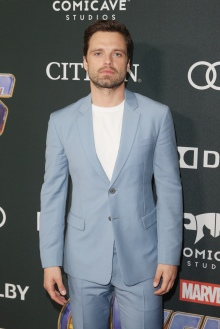 "LOS ANGELES, CA - APRIL 22: Sebastian Stan attends the Los Angeles World Premiere of Marvel Studios' ""Avengers: Endgame"" at the Los Angeles Convention Center on April 23, 2019 in Los Angeles, California. (Photo by Jesse Grant/Getty Images for Disney) *** Local Caption *** Sebastian Stan"