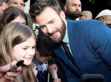 "LOS ANGELES, CA - APRIL 22: Chris Evans (R) attends the Los Angeles World Premiere of Marvel Studios' ""Avengers: Endgame"" at the Los Angeles Convention Center on April 23, 2019 in Los Angeles, California. (Photo by Rich Polk/Getty Images for Disney) *** Local Caption *** Chris Evans"