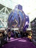 "LOS ANGELES, CA - APRIL 22: View of the atmosphere inside the Los Angeles World Premiere of Marvel Studios' ""Avengers: Endgame"" at the Los Angeles Convention Center on April 23, 2019 in Los Angeles, California. (Photo by Jesse Grant/Getty Images for Disney)"